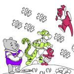 Juego de colorear a Winnie The Pooh