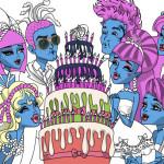 Juego de colorear el cumpleaños de Drakulaura
