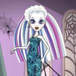 Juego de moda, maquillaje y peinados para Abbey