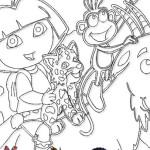Juego de pintar a Dora