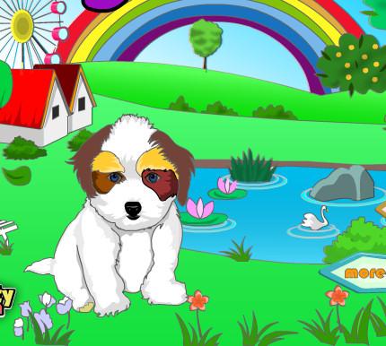 juego pintar perrito