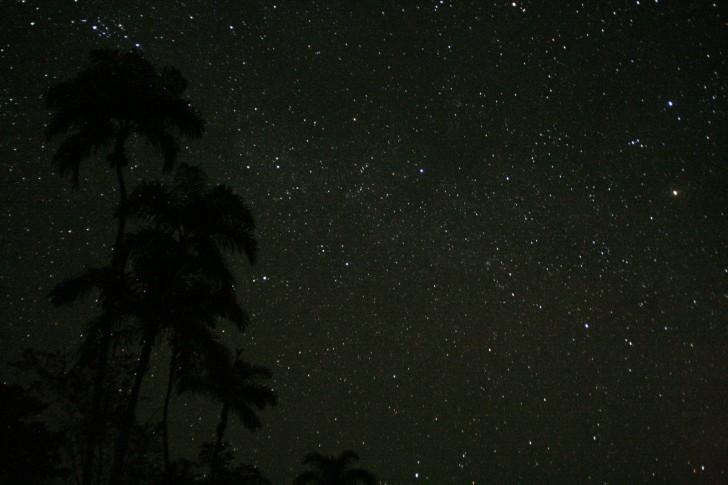 noche estrellada universo estrellas