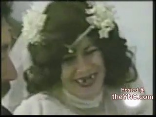 novia boda pierde dentadura postiza dientes
