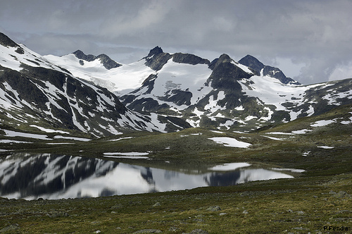 jotunheimen noruega escandinavia cordillera