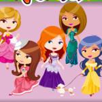 Juego de colorear a las princesas