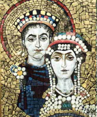 justiniano teodora reyes bizancio