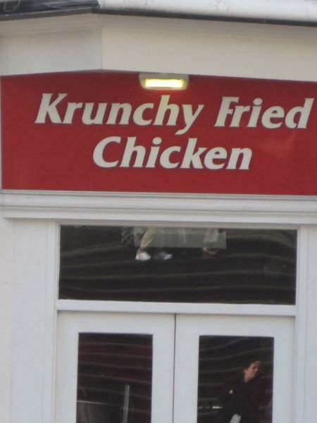 krunchy fried chicken