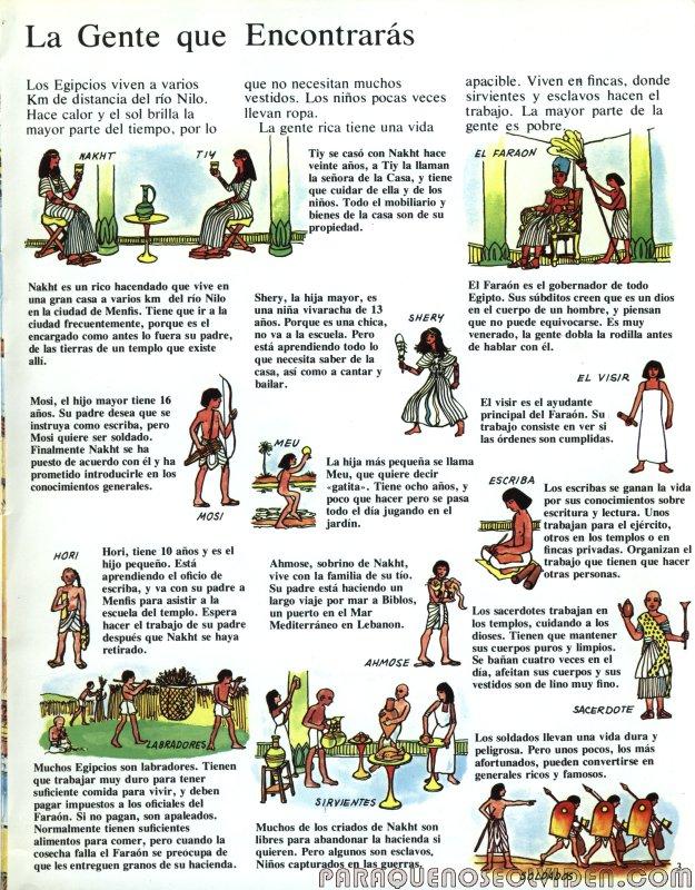 A traves del tiempo Faraones y piramides 04