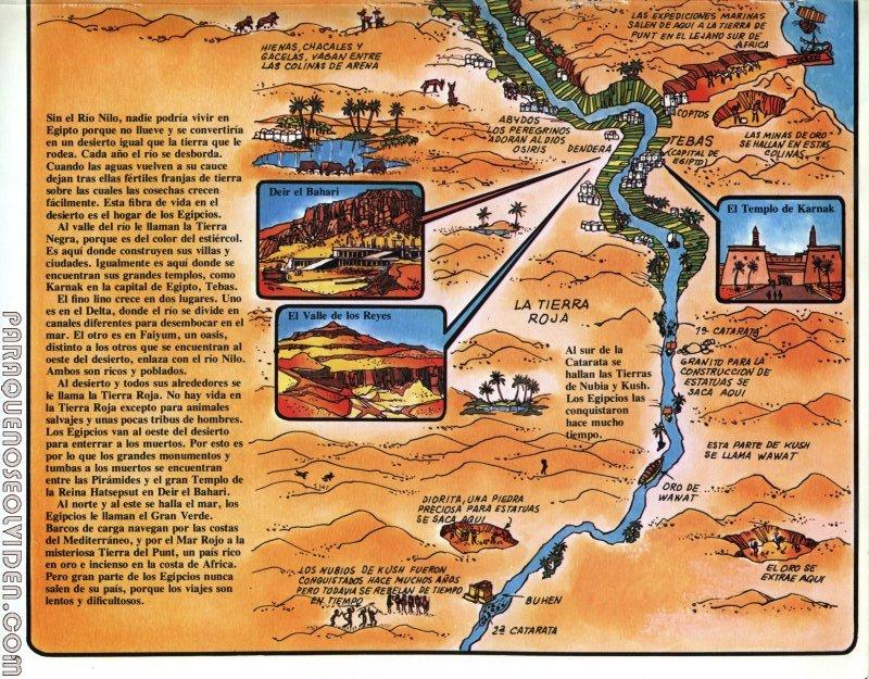 A traves del tiempo Faraones y piramides 06