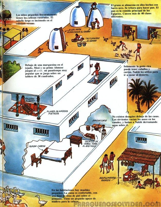 A traves del tiempo Faraones y piramides 10