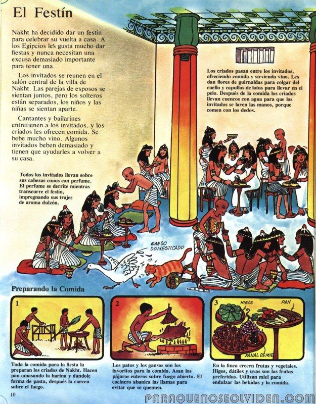A traves del tiempo Faraones y piramides 11