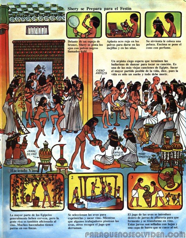 A traves del tiempo Faraones y piramides 12
