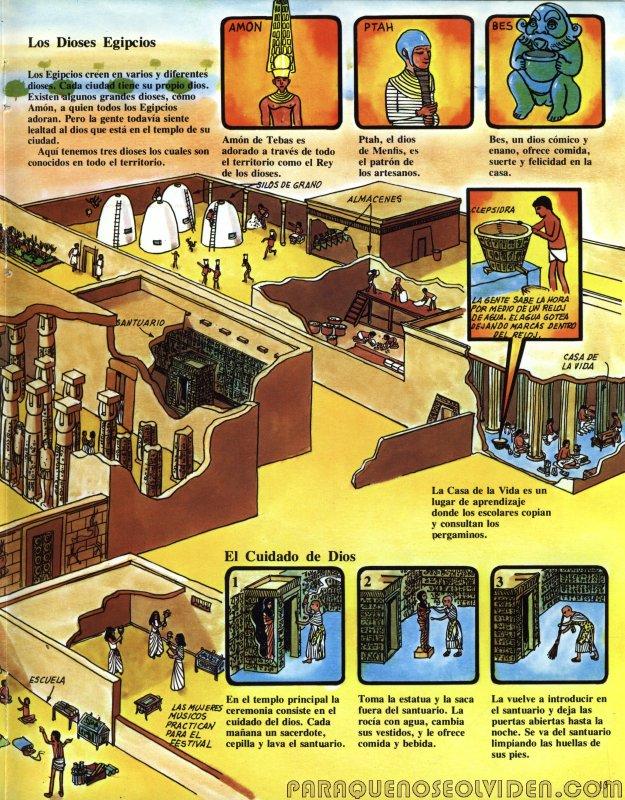 A traves del tiempo Faraones y piramides 14