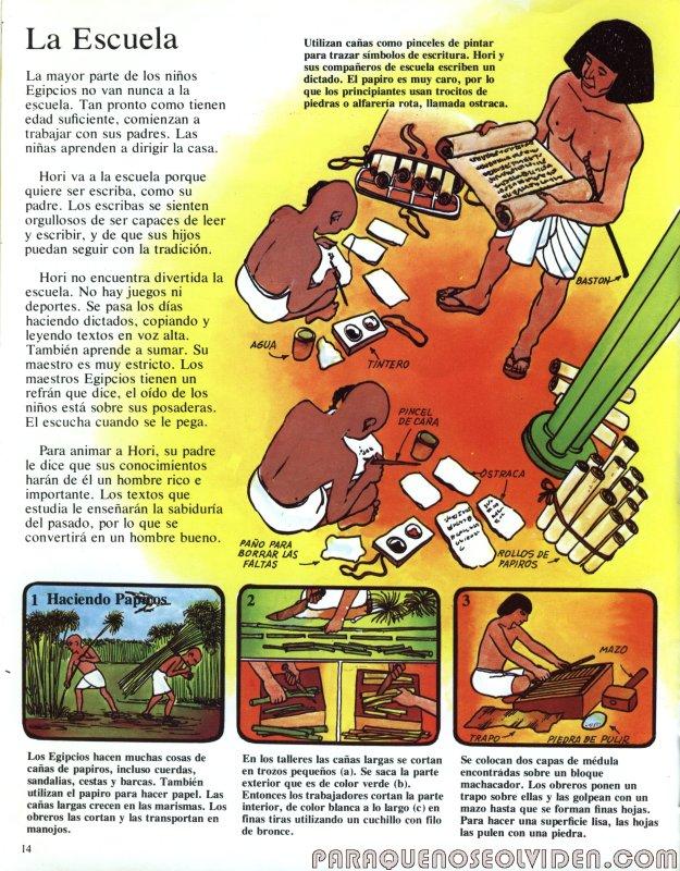 A traves del tiempo Faraones y piramides 15