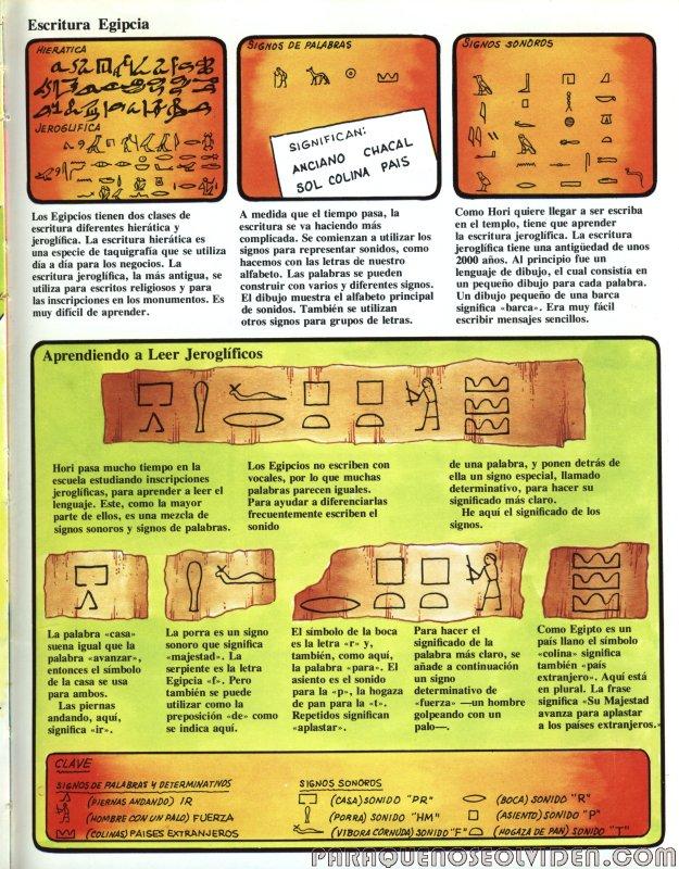 A traves del tiempo Faraones y piramides 16
