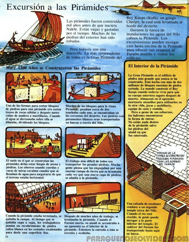 A traves del tiempo Faraones y piramides 17