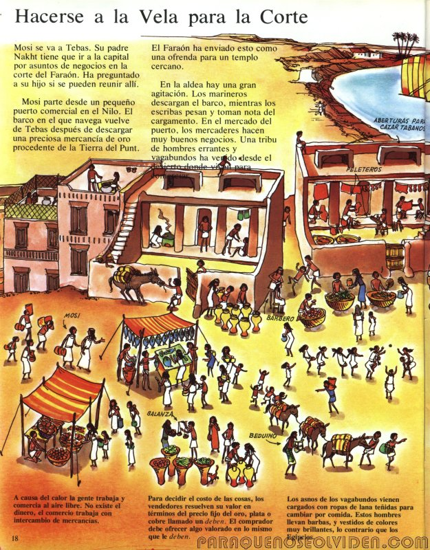 A traves del tiempo Faraones y piramides 19