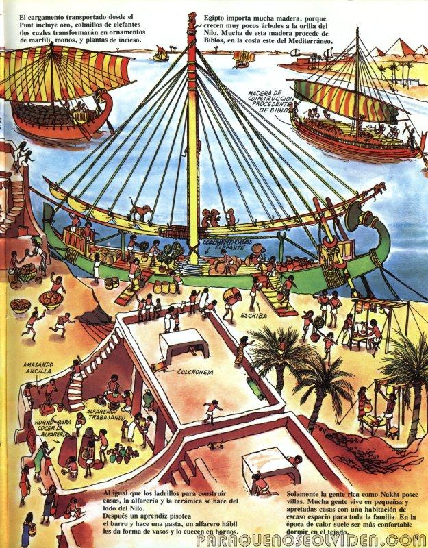 A traves del tiempo Faraones y piramides 20