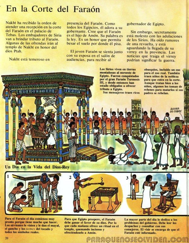 A traves del tiempo Faraones y piramides 21