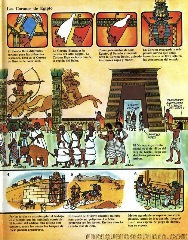 A traves del tiempo Faraones y piramides 22