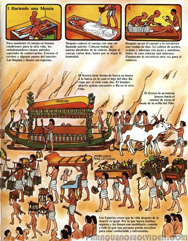 A traves del tiempo Faraones y piramides 26