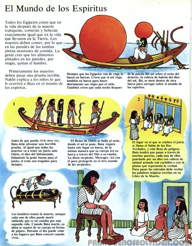 A traves del tiempo Faraones y piramides 27