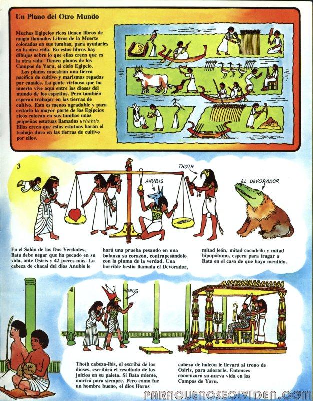 A traves del tiempo Faraones y piramides 28