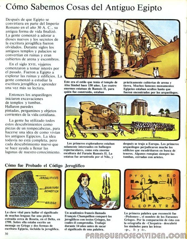 A traves del tiempo Faraones y piramides 31