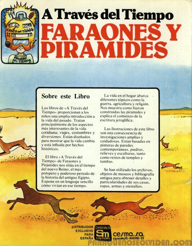 A traves del tiempo Faraones y piramides 34