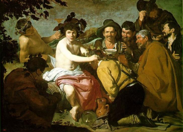 El triunfo de Baco velazquez los borrachos 1628-1629