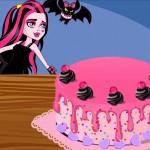 Juego de decorar la tarta de Draculaura