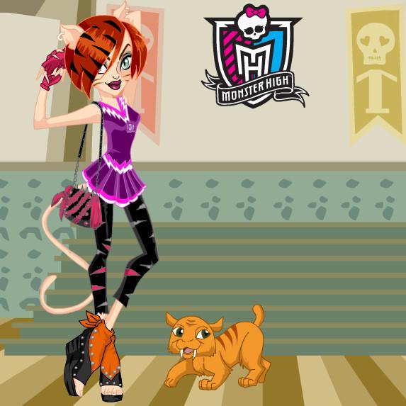 juego moda Toralei stripe monster high
