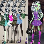 juego moda frankie stein monster high
