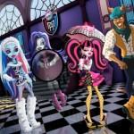 Juego de buscar números escondidos Monster High