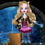 Juego de vestir a las muñecas Monster High