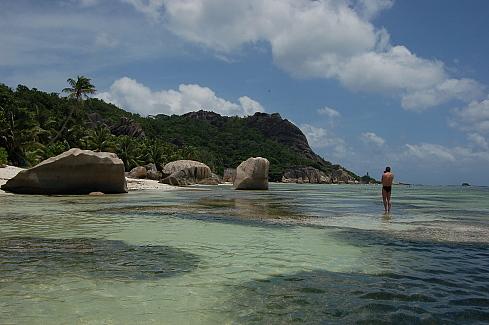 naturaleza bella playa caribe