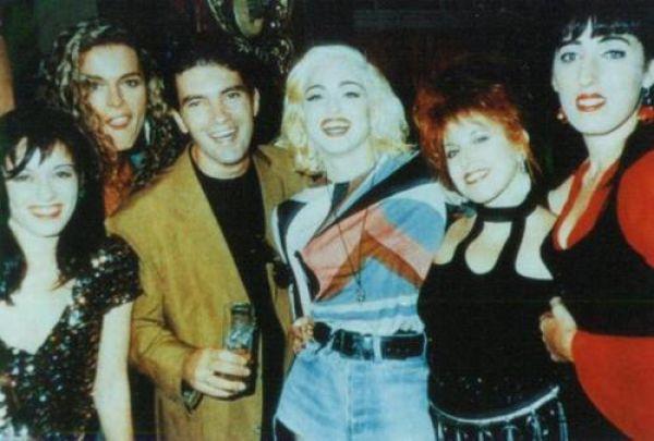 Antonio Banderas Madonna Rossi De Palma loles leon bibi andersen