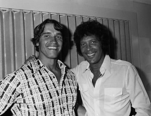 Arnold Schwarzenegger Tom Jones