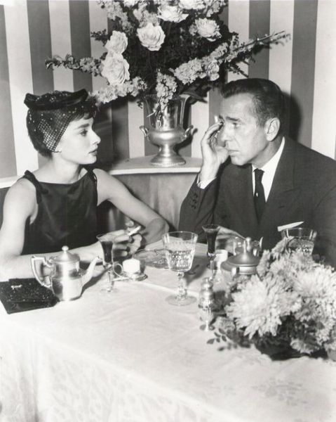Audrey Hepburn Humphrey Bogart