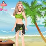 Juegos de vestir a Barbie con ropa para la playa