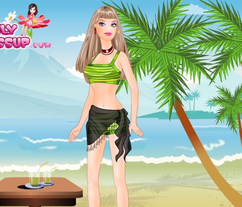 Barbie ropa para la playa
