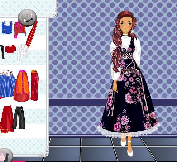 Barbie trajes regionales