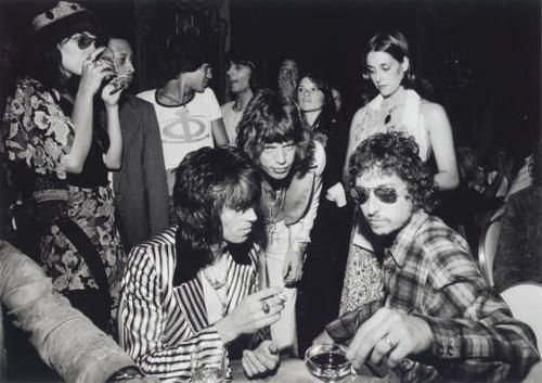 Bob Dylan Mick Jagger Bianca Keith Richards