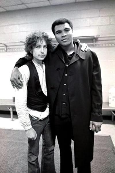 Bob Dylan Muhammad Ali