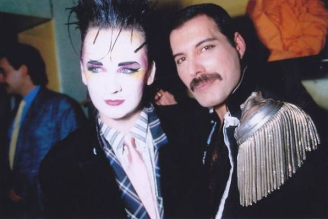 Boy George Freddie Mercury