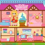 Casa de muñecas para Barbie