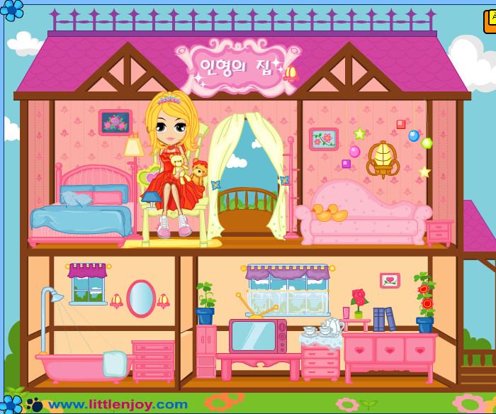Casa De Munecas Para Barbie Juegos