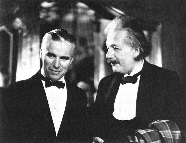 Charlie Chaplin Albert Einstein