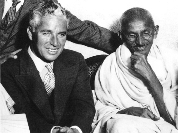 Charlie Chaplin Gandhi