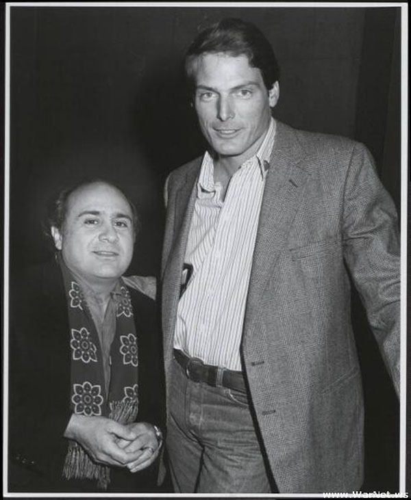 Danny DeVito Christopher Reeve